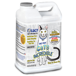 Lucy Pet Products Cat Litter Unscented - 20lb