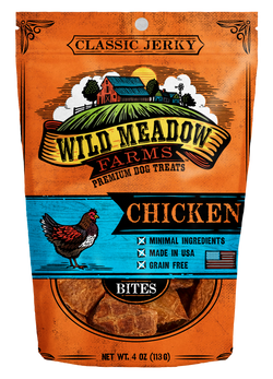 Wild Meadow Farms Chicken Treats - 4oz