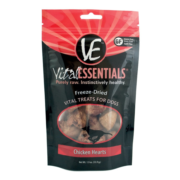 Vital Essentials Freeze-Dried Chicken Heart Treats - 1.9oz