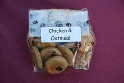 My Pet Naturally Chicken & Oatmeal Cookie Treats - 3oz