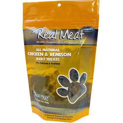 Real Meat Dog Treats Chicken & Venison - 12oz