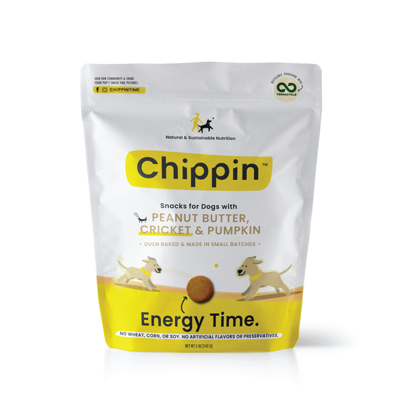 Chippin Peanut Butter, Cricket & Pumpkin 5oz