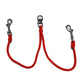 "Timberwolf Alpine Dog Coupler Red - 5/16"" 24"""