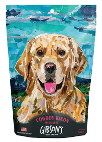 Gibson's Dog Treats Cowboy Bacon 3oz