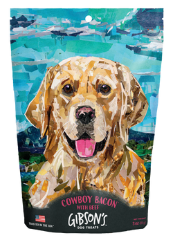 Gibson's Dog Treats Cowboy Bacon