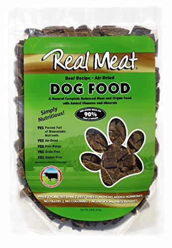 Real Meat Dog Food Air-Dried Beef - 2lb