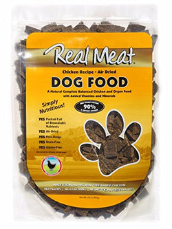 Real Meat Dog Food Air-Dried Chicken - 2lb