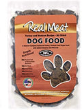 Real Meat Dog Food Air-Dried Turkey & Venison - 2lb