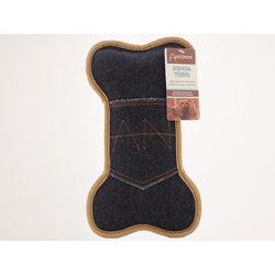 Aussie Naturals Denim Pocket Bone Toy - Large
