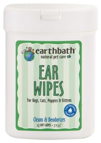 Earthbath Soft Ear Wipes 7oz