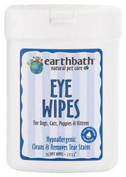 Earthbath Soft Eye Wipes
