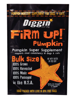 Diggin Firm Up Pumpkin For Dogs & Cats - 16oz