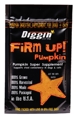Diggin Firm Up Pumpkin For Dogs & Cats - 4oz