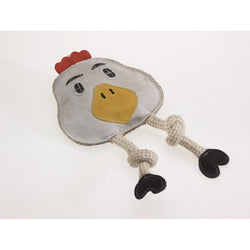 Aussie Naturals Flattie Chicken Toy
