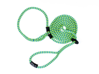 Dog Harness Leads S/M Lime/Blue