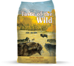 Taste of the Wild Dog Food High Prairie - 5lb
