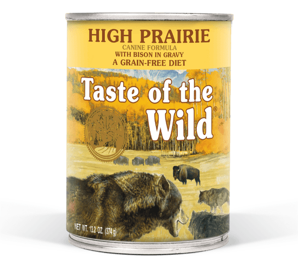 Taste of the Wild High Prairie Canned Dog Food - 13.2oz
