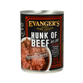 Evanger's Canned Dog Food Hunk of Beef - 12oz