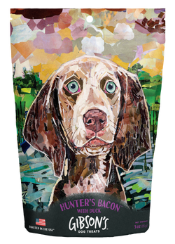 Gibson's Dog Treats Hunter's Bacon