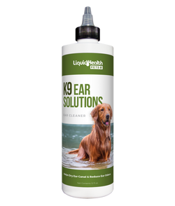 Liquid Health K9 Ear Solutions - 12oz