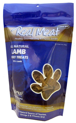Real Meat Dog Treats Lamb - 12oz