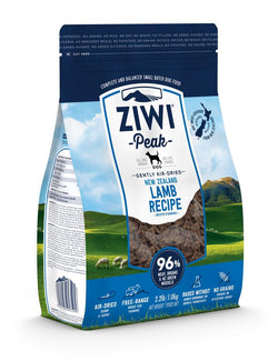 Ziwi Peak Air-Dried Dog Food Lamb - 2.2lb