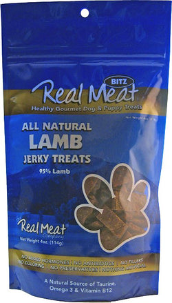 Real Meat Dog Treats Lamb - 4oz
