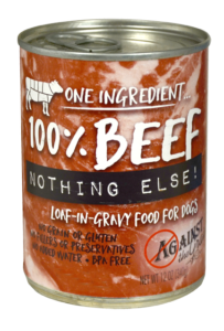 Against the Grain Canned Dog Food Nothing Else Beef - 11oz