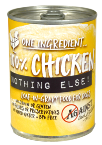 Against the Grain Canned Dog Food Nothing Else Chicken - 11oz