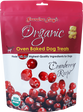 Grandma Lucy's Organic Oven Baked Dog Treat's Cranberry Recipe 14 oz