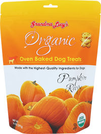 Copy of Grandma Lucy's Organic Oven Baked Dog Treat's Pumpkin Recipe 14 oz