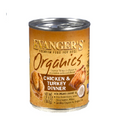 Evanger's Organics Canned Dog Food Chicken & Turkey - 12.8oz
