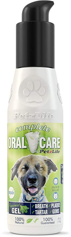 PetzLife Oral Care Peppermint Gel - 4oz