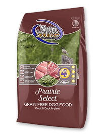 NutriSource Dog Food Prairie Select - 15lb