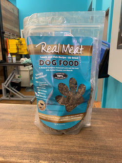Real Meat Dog Food Air-Dried Lamb and Fish - 2lb