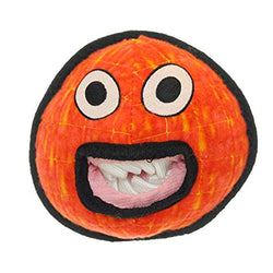 Tuffy Dog Toy Red Alien Ball