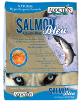 Addiction Dog Food Salmon Blue - 20lb
