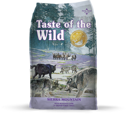 Taste of the Wild Dog Food Sierra Mountain - 5lb