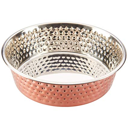 Spot Stainless Steel Honey Comb Pet Bowl - 1pt