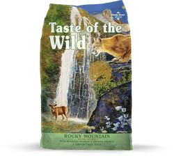 Taste of the Wild Cat Food Rocky Mountain - 5lb