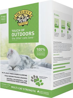 Dr. Elsey's Touch of Outdoors Clumping Cat Litter - 20lb