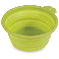 Petmate Travel Pet Bowl Green - Small