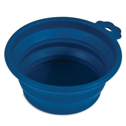 Petmate Travel Pet Bowl Navy - Large
