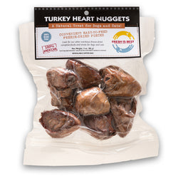 Fresh Is Best Freeze-Dried Turkey Heart Treats - 3oz