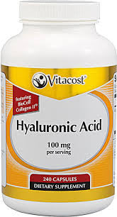 Hyaluronic Acid By Vitacost