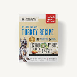 The Honest Kitchen Dehydrated Dog Food Whole Grain Turkey - 10lb