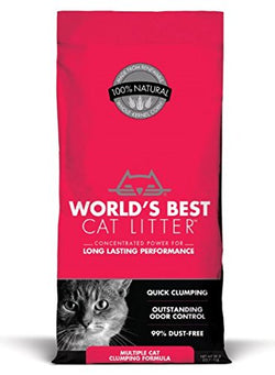 World's Best Cat Litter Multi-Cat Clumping Formula - 8lb