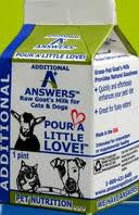 Answers Goat's Milk Half Gallon 64 oz
