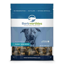 Barkworthies Rabbit Bon Bons - 8oz