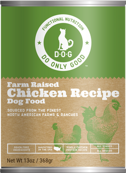 Do Only Good (D.O.G.) Canned Dog Food Chicken -13oz